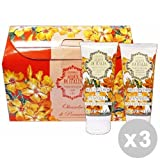 HANORAH ACQUE D'ITALIA Set 3 HANORAH ACQUE D'ITALIA Idea regalo gel doccia+crema fluida 100 ml. oleandro