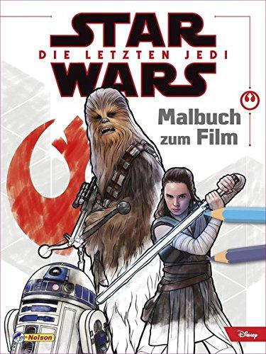 Star Wars: Die letzten Jedi - Malbuch zum Film (Malbuch Wars Star)