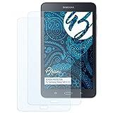 Bruni Schutzfolie für Samsung Galaxy Tab A 7.0 Folie - 2 x glasklare Displayschutzfolie