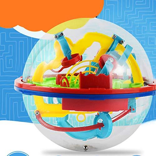 Elviray 3D Puzzle Magic Maze Ball 299 Level Magic Marble Puzzle Iq Balance Toy