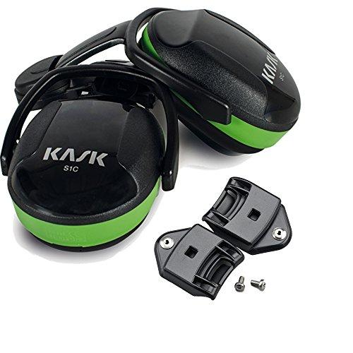 """Kask Gehörschutz \""""SC1\"""" grün Set mit Adapter für Plasma Industriehelm WHP00001.205"""