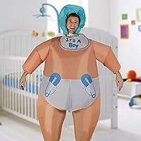 Inflable Blow Up traje gordo disfraces niño niño bebé adulto Halloween traje novedad