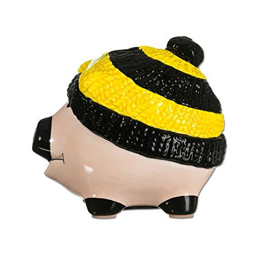 BVB 15704000 Sparschwein mit Mütze