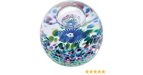 Caithness Glass Unlimited Blume Briefbeschwerer