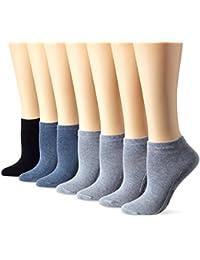 Camano, Calcetines Cortos para Mujer (Pack de 7)
