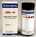 100 Professional Ketone test strip Urinalysis Urine strip tests for ketones