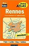 Plan de ville : Rennes, agglom�ration...