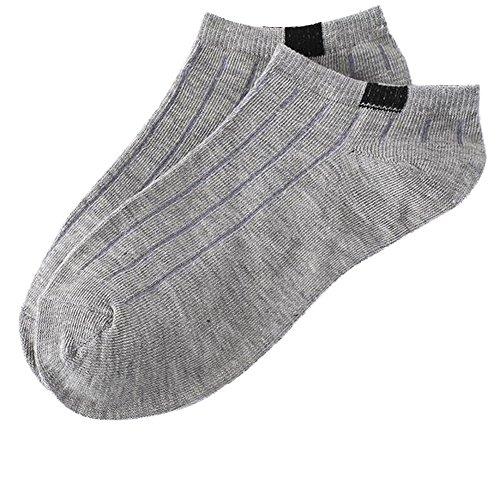 Socken, Xshuai 1Pair Unisex Bequeme Streifen-Baumwollsocken-Pantoffel-Kurze Söckchen (Mini Bulk Strümpfe)