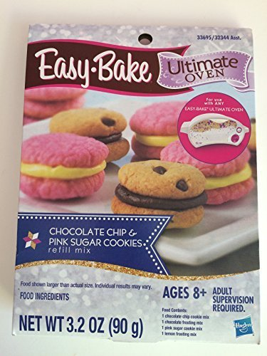 easy-bake-ultimate-oven-chocolate-chip-sugar-cookies-refill-pack-pink-by-easy-bake