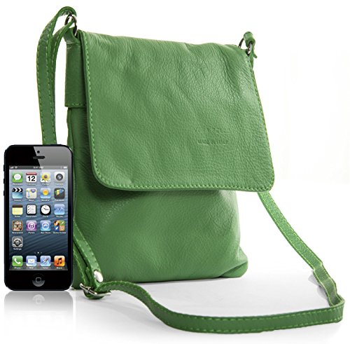 Big Handbag Shop - Borsa a tracolla donna Light Tan - Brown Trim
