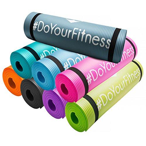 Matelas de fitness »Yogini« / épais et souple, idéal pour le pilates, la gymnastique et le yoga, dimensions : 183 x 61 x 1 cm / disponible en différentes couleurs.