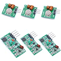 Willwin - Kit de transmisor inalámbrico y módulo receptor para Arduino/Arm/McU/Raspberry Pi, 3 unidades, 433 MHz RF