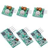 willwin 3433MHz RF Wireless Transmitter und Empfänger Modul Kit für Arduino/Arm/MCU/Raspberry Pi 433MHz