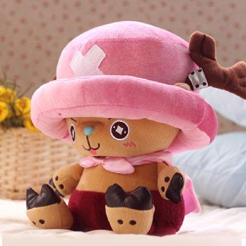 zhenxin Plüschtier 28cm EIN Stück Plüsch Spielzeug Chopper Plüsch Puppe Anime süßes Spielzeug, Chopper Puppe