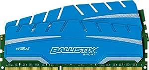Ballistix Sport XT 8GB Kit (4GBx2) DDR3 1600 MT/s (PC3-12800) UDIMM 240-Pin Memory - BLS2C4G3D169DS3CEU