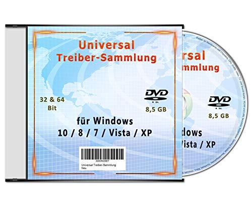 Universal Treiber-Sammlung für Windows 10 - 8 - 7- Vista - XP (32 & 64 Bit) -