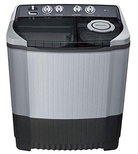 LG 7.5 kg Semi-Automatic Top Loading Washing Machine (P8539R3SM, Dark...