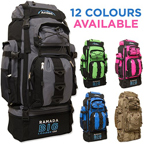 51aa1wGOAML. SS500  - Andes Ramada 120L Extra Large Hiking Camping Backpack/Rucksack Luggage Bag
