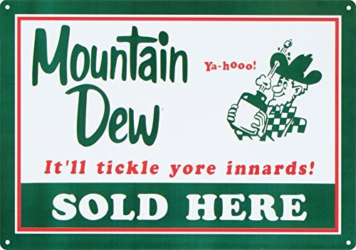 mountain-dew-soda-sold-here-tin-sign-12-x-17in-by-poster-revolution