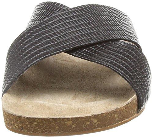 Vero Moda Vmsofie Leather Sandal, Mules femme Noir - Noir