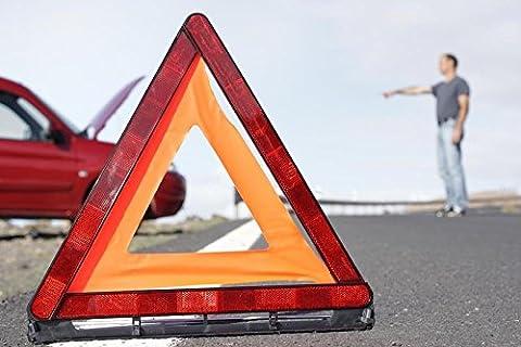 EMERGENCY BREAKDOWN WARNING TRIANGLE EU APPROVED ECE 27 CARAVAN JEEP MPV VAN