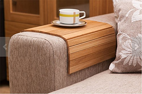 MosQuick TeakWood Multipurpose Flexible / Rollable Sofa Tray/Table Mat