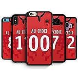IDcaseFR Coque Silicone Bumper Souple IPHONE 4/4s - Football Albanie Albania...