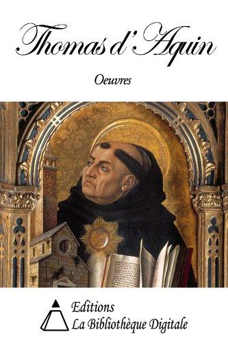 Oeuvres de Thomas d'Aquin par Thomas d'Aquin