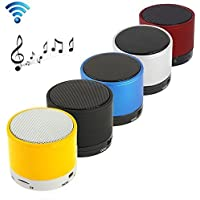 Padraig Wireless LED Bluetooth Speaker S10 Handfree with Calling Functions & FM Radio (Assorted Colour)