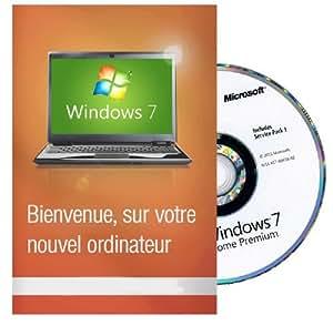 Windows 7 Edition Familiale Premium 64 Bits FRANCAISE MAR