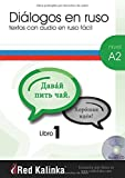 Dialogues in easy Russian. A2 level. 1 Book: Texts with audio for Russian students