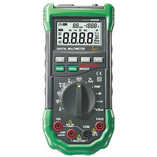 Mastech MS8229 Multímetro Digital