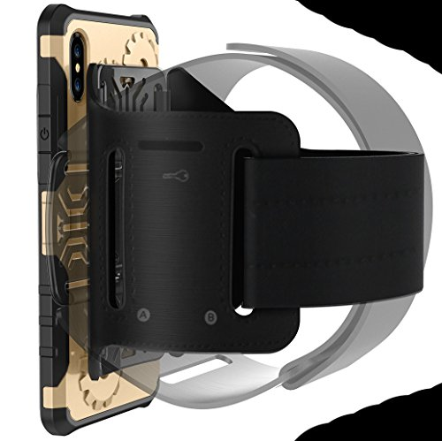 iPhone7/8 Armor Case, Very Light Slim Rotating Gear Style + Sport Fashion Arm Belt, WEIFA 2017 Newest Super Cool Outdoor Anti-Drop Protection CellPhone Cover Case For iPhone 7/8 Gray !Silver