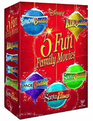 Disney Buddies Collection (Air, Snow, Space, Santa and Santa Paws) [DVD] by Slade Pearce