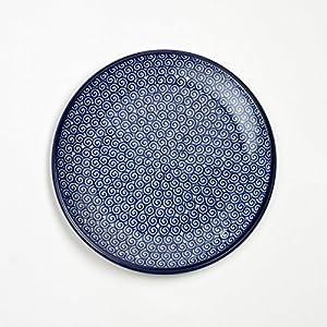 Polish Pottery 20cm Plate – Doodle