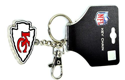 NFL Key Chain Zamac (Kansas City Chiefs) (Chiefs Kansas City Spielzeug)