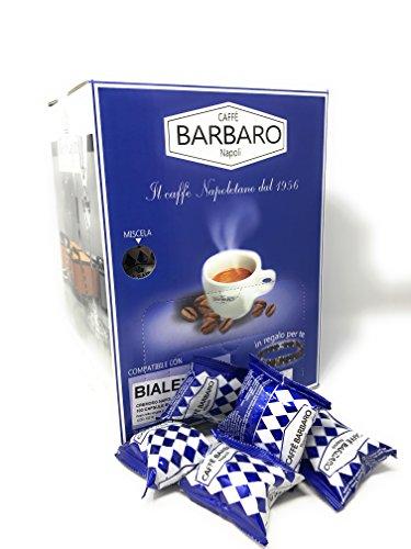 100 CAPSULE CAFFE\' BARBARO COMPATIBILI BIALETTI CREMOSO