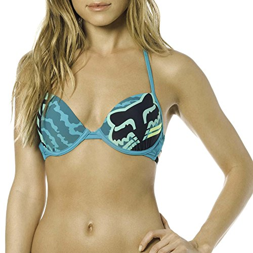 Fox Damen Firing Push Up Swimming Top jade