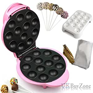 Electric 12 Party Pop Cake Baby Lolli Cake Donut Holes Cupcake Maker Machine
