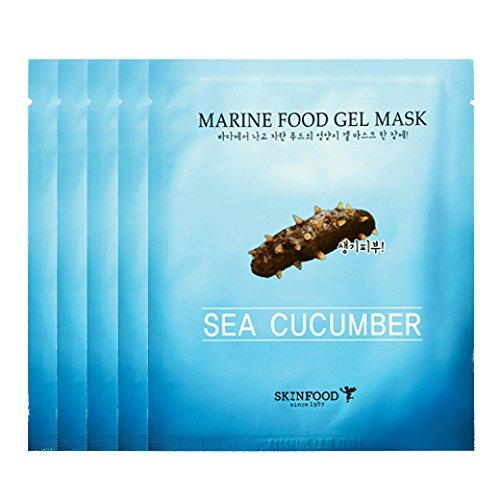 skin-food-marine-food-gel-mask-sea-cucumber-25g-x-5pcs