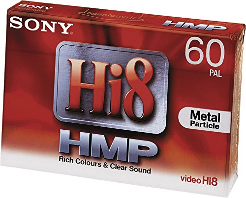 Sony 1x 60min Hi8 Video Cassette 1 Pieza(s) - Cinta de Audio/Video (60 min, 1 Pieza(s))