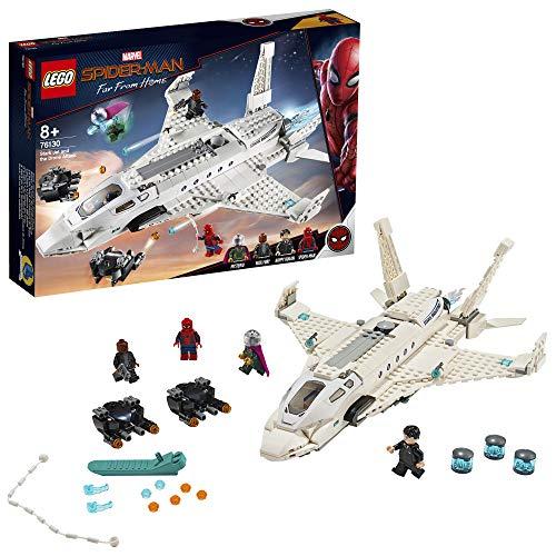 LEGO Super Heroes - L'attaque de Spider Man avec le jet de Stark...