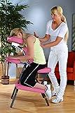 Massagestuhl mit Tasche Pink - TSGPS Kingpower