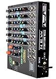 6 Channels Stereo Echo Mixer. Digital Echo 20 - 400 m/s. Frequency 25 Hz - 25 KHz. Input Gain: - 50 dB to 6 dB gain range with overdrive indication. Output 0 dBm / 17 dBm (775mv / 5.5v) Equalization: Bass & Treble+ 5 dB. Controls: Gain, Eq., Pan,...