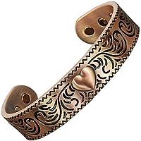 Magnetisches Armband für Damen von Arthritis, reines Kupfer, zur Schmerzlinderung, therapeutisches Gesundheitsarmband... preisvergleich bei billige-tabletten.eu