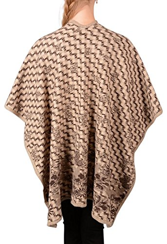 Looking Glam - Poncho -  donna Beige