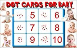 Dot cards for babies: Dot cards number talks (Early learning education Book 1)
