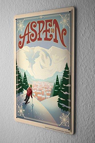 KellySigns Metallschild, Vintage-Design, lustig, für Garagendekoration, Mann Höhlenideen, Hofzeug oder Wand Color-009