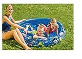 Babypool Planschbecken Badespaß für Babys Schwimmbad für Kleinkinder Pool Planschbecken Kinderpool Babypool zum spielen Baby Pool Schwimmingpool Kinderplanschbecken Kinderspielpool Babypool mit Fischen Wal Maße: ca. 160 x 35