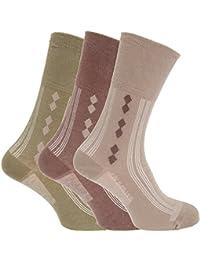 Herren Diabetiker-Socken, 3er-Pack